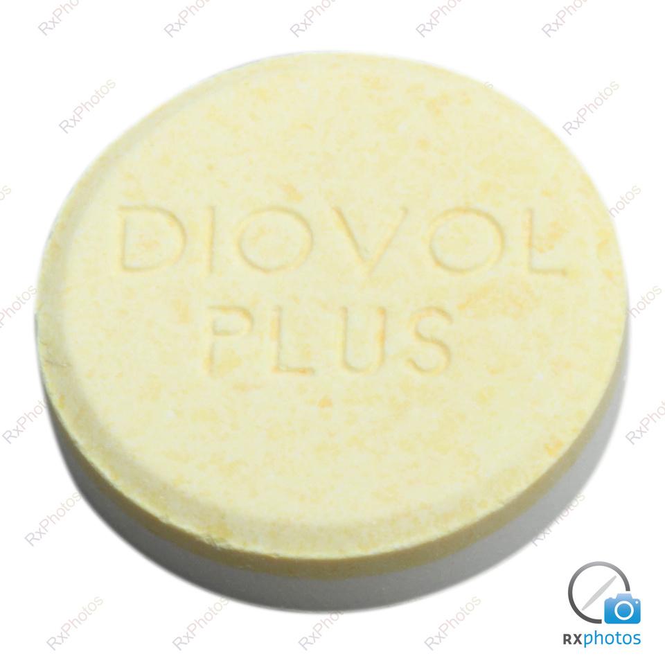 Diovol Plus comprimé croquable 300+100+25mg
