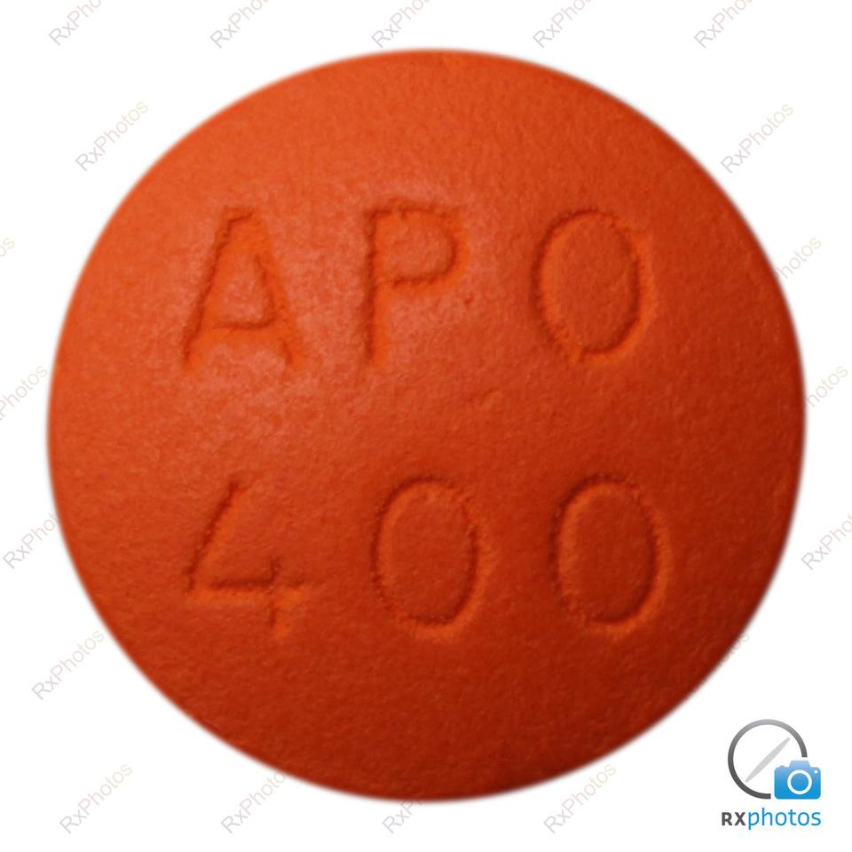 Apo Ibuprofen comprimé 400mg