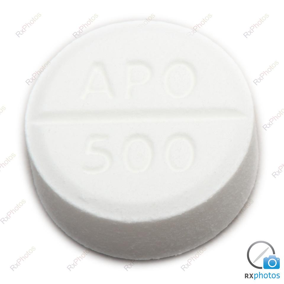 Apo Acetaminophene comprimé 500mg