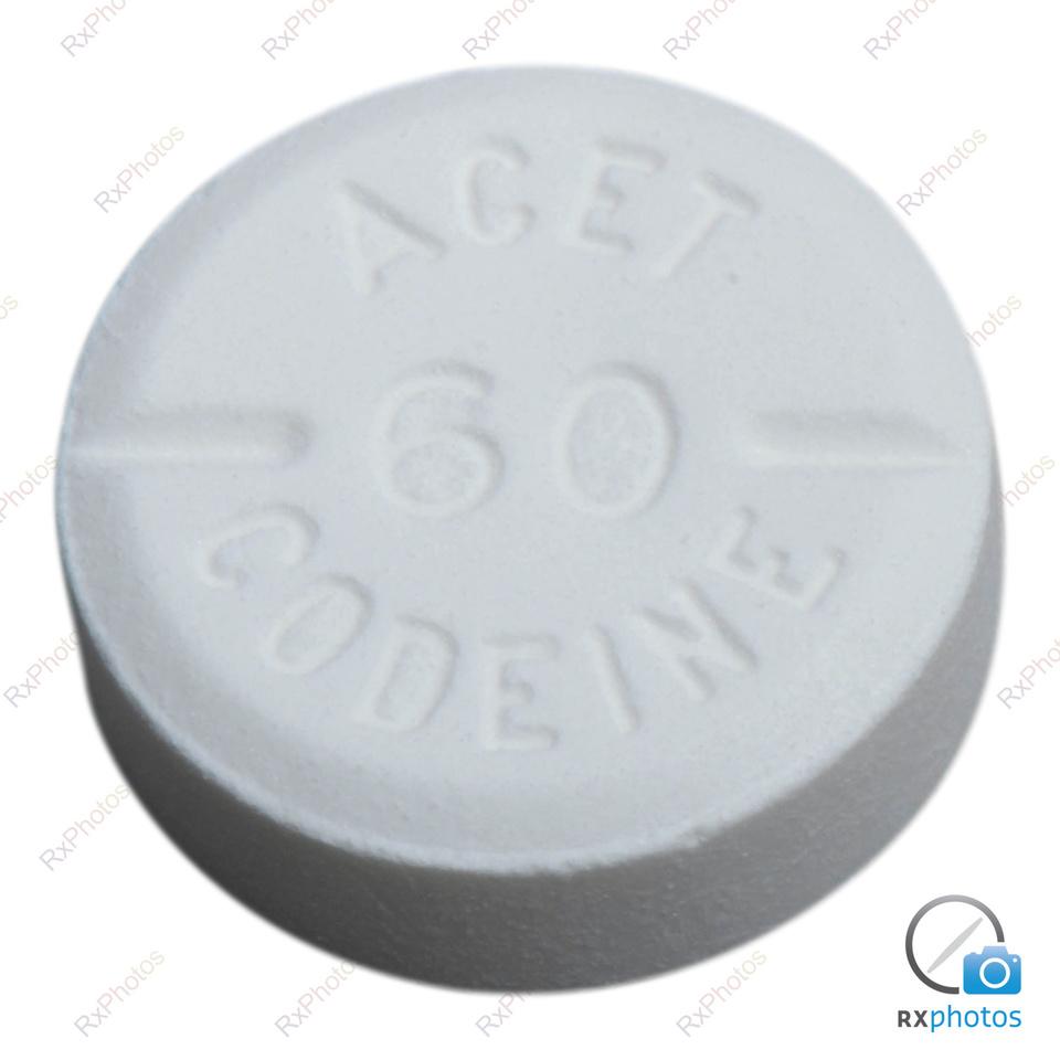 Acet Codeine 60 comprimé 60+300mg