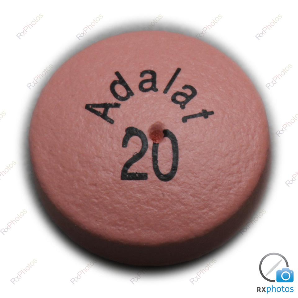 Adalat XL comprimé-24h 20mg