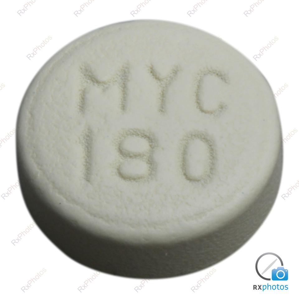 Apo Acide Mycophenolique comprimé entérique 180mg