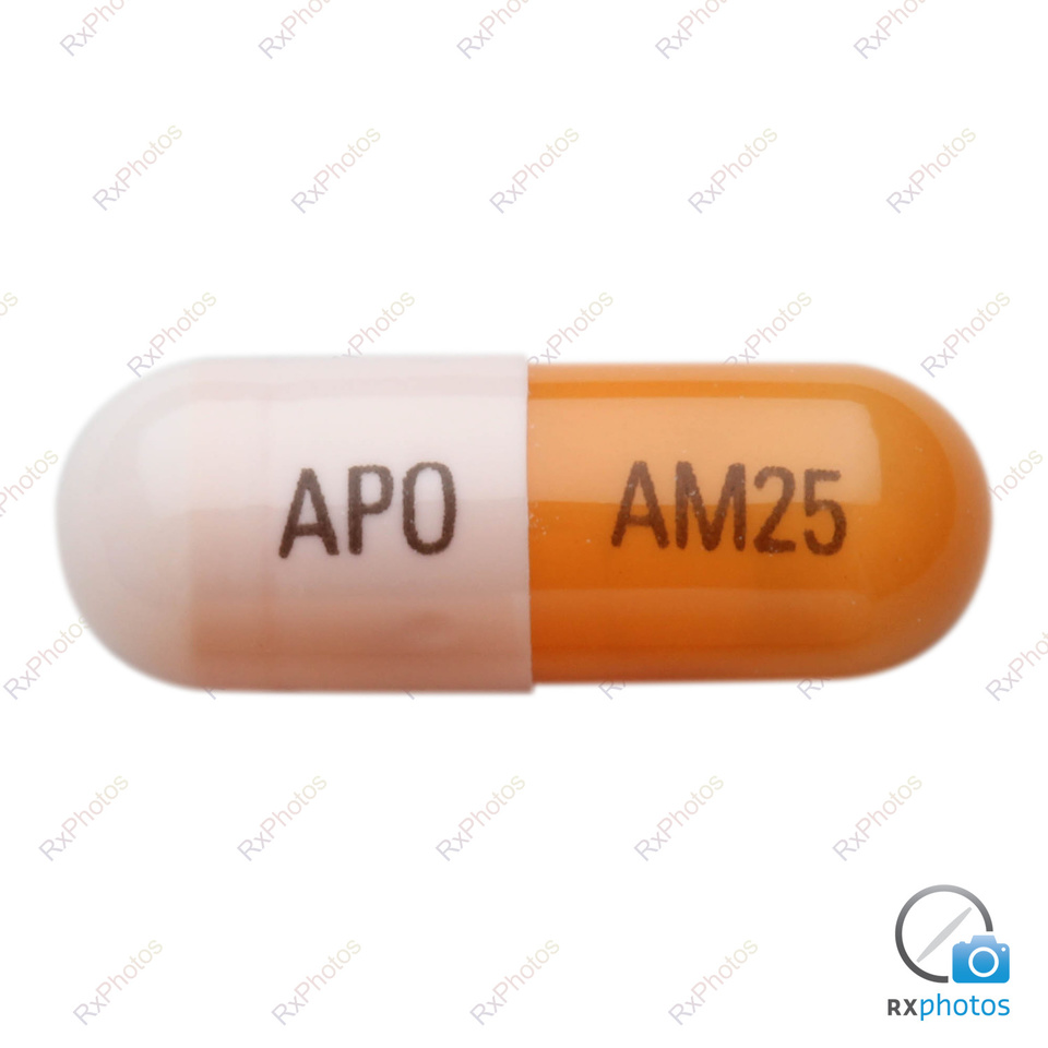 Apo Amphetamine XR 12h-capsule 25mg