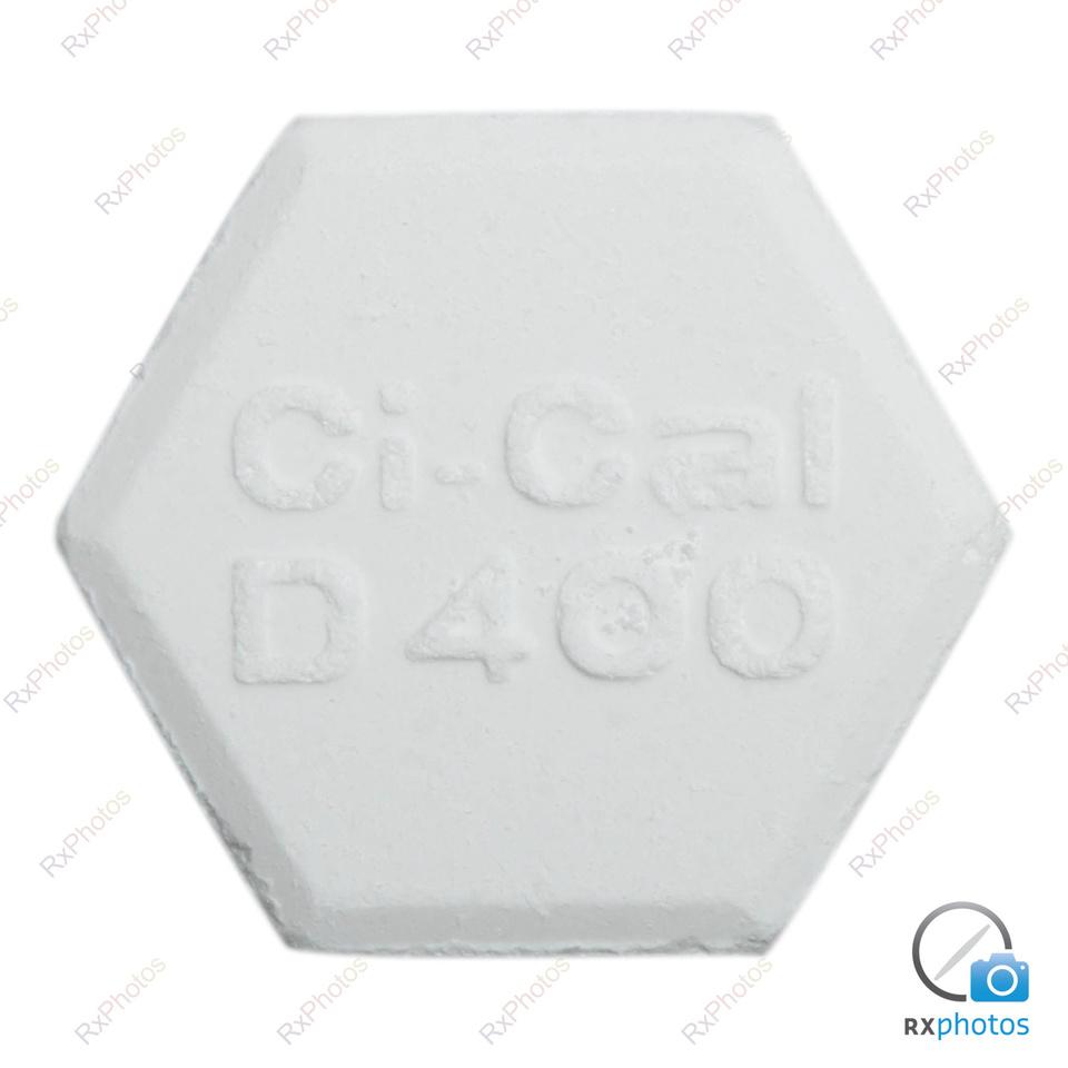 Ci Cal D 400 comprimé croquable 500mg+400ui