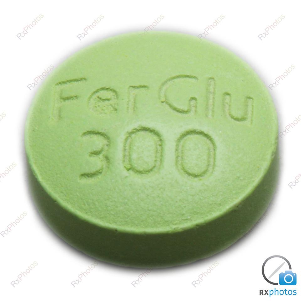 M Fer Gluconate comprimé 300mg