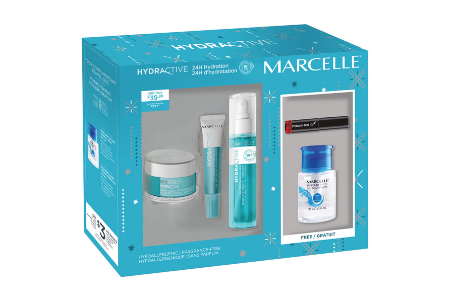 Marcelle - Coffret Soin Hydractive