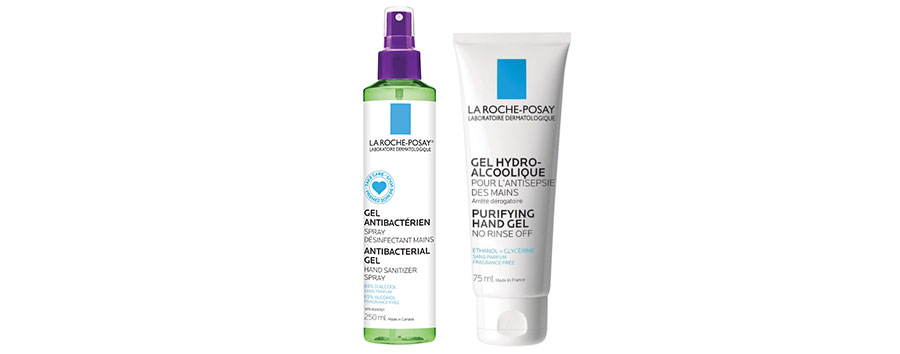 1)	La Roche-Posay Purifying Hand Gel