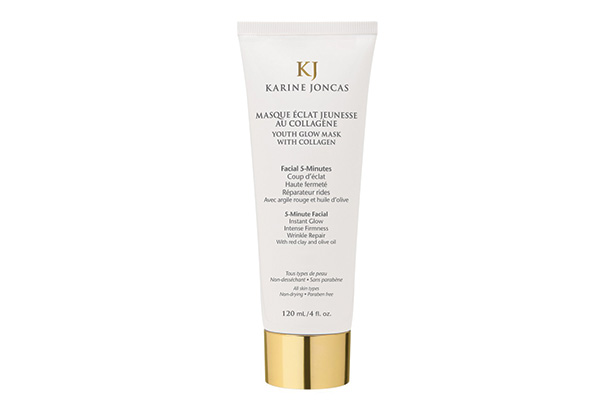 Youth glow mask with collagen from Karine Joncas