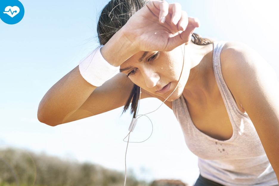 5 tips for dealing with perspiration