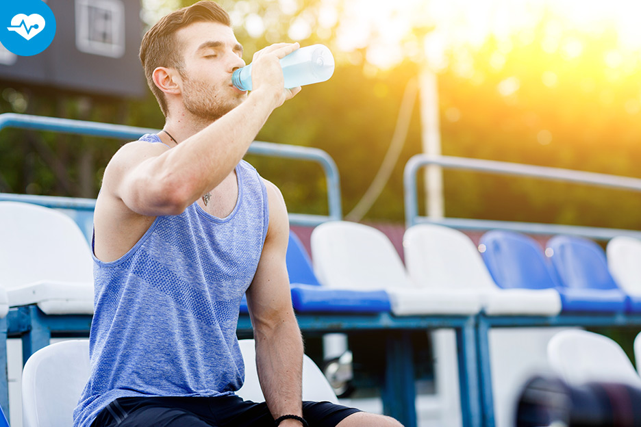 Being properly hydrated for better performance