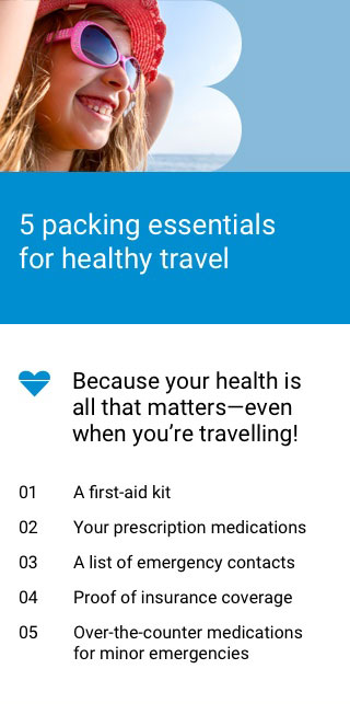 5 packing essentials for healthy travel