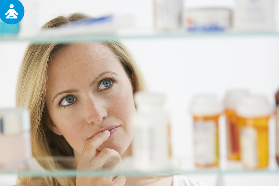 Cleaning out your medicine cabinet in 6 steps