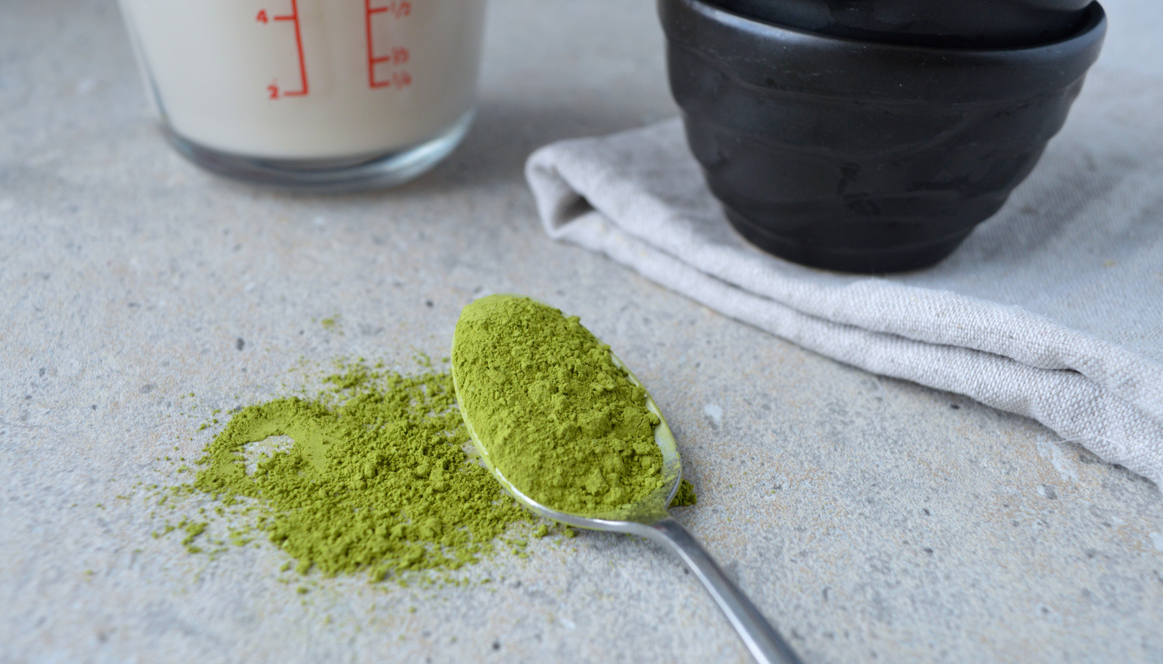 It's best to drink matcha in moderation