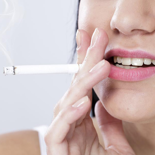 The harmful effects of second-hand smoke