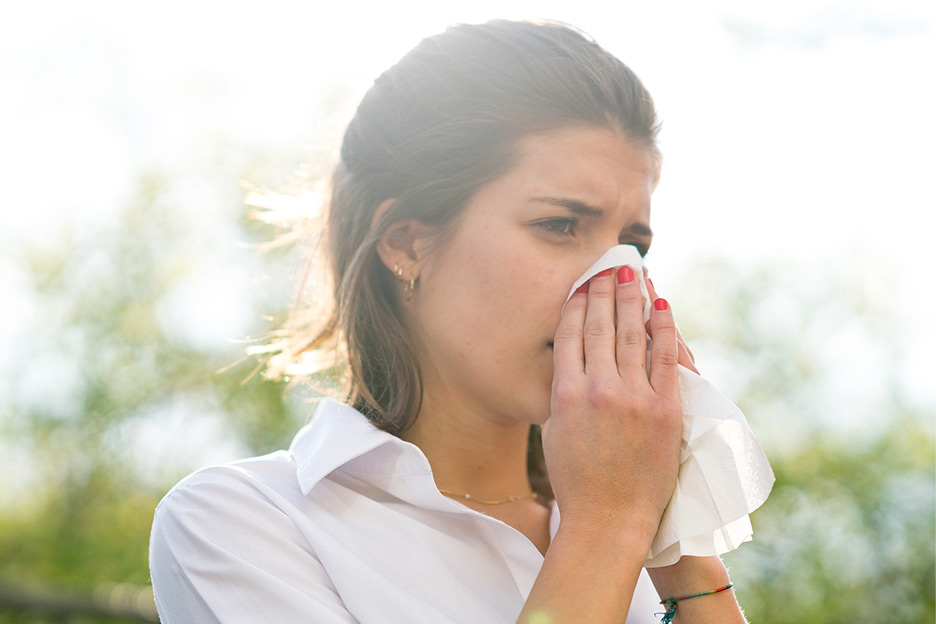 Living with seasonal allergies