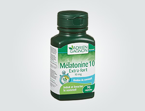 MELATONIN 10 EXTRA-STRONG ADRIEN GAGNON